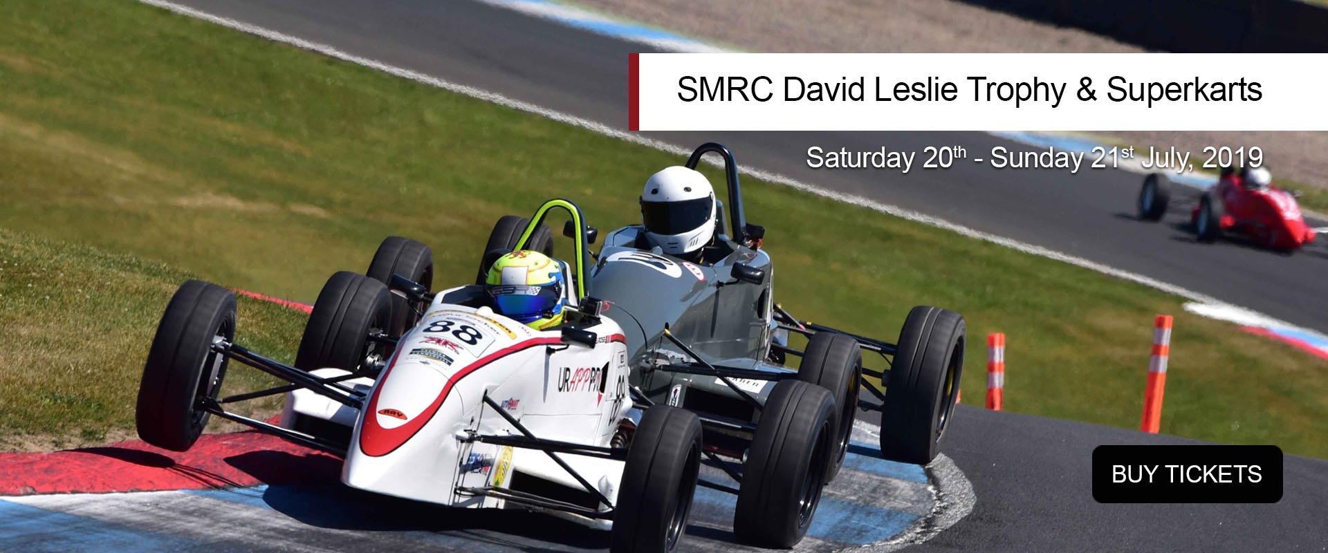 SMRC David Leslie Trophy & Superkarts