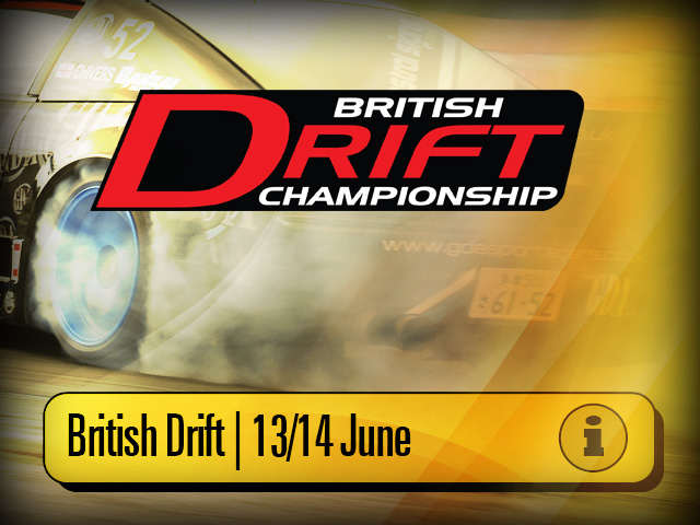 British Drift Championship at Knockhill