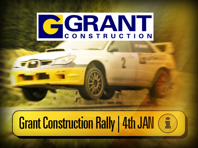 Grant Construction Rally Stages at Knockhill