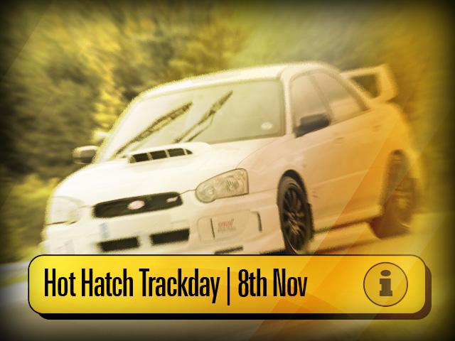 Hot Hatch Car Trackday November