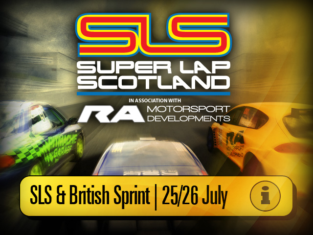 Super Lap Scotland  and British Sprint, Fueltopia Barrel Sprint & Gymkhana