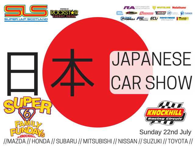 SLS &  Japanese Car Show (Sunday Only)'