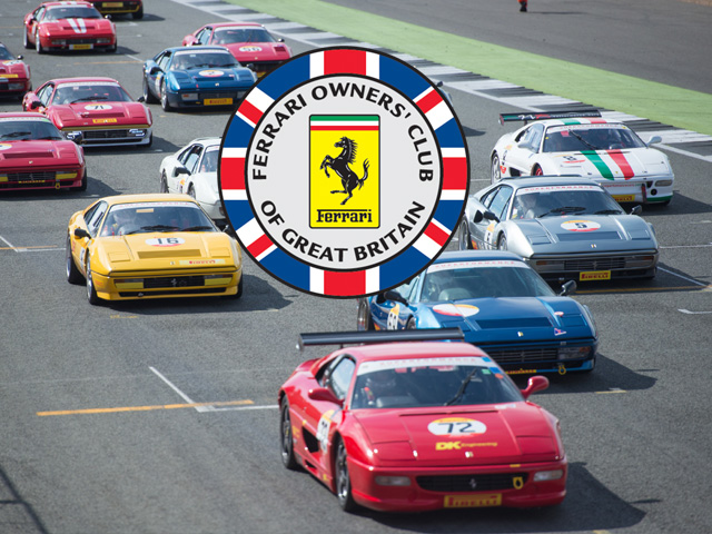 Ferrari Owners Club Festival - Celebrating 50 Years