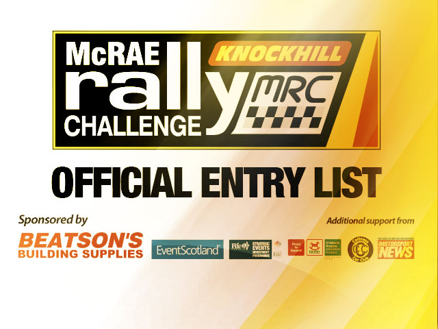 Route Planning and Entry List Confirmed