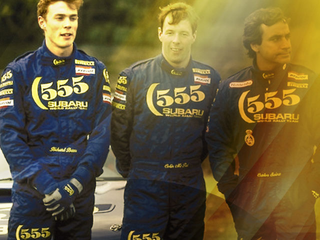 Richard Burns Tribute at McRae event