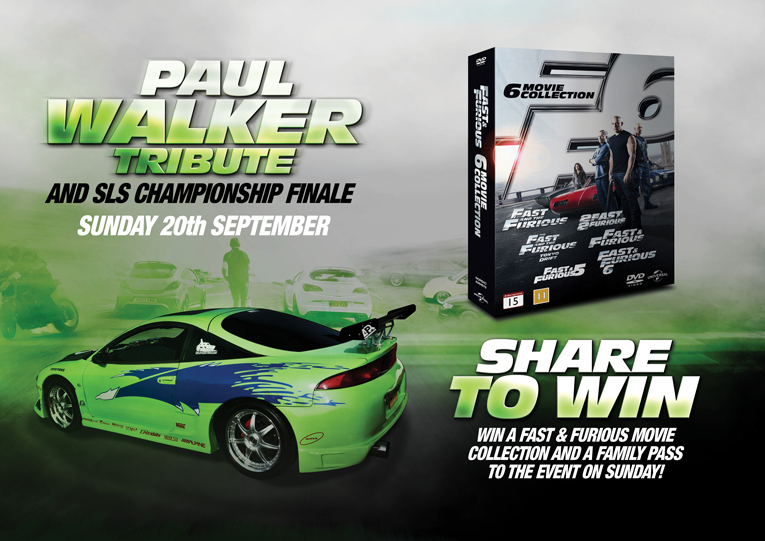 Win tickets to our Paul Walker Tribute and SLS event!