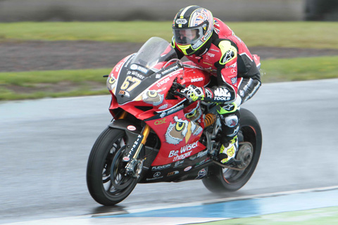 Another pole-winning performance for Byrne at Knockhill
