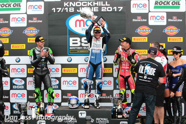 Dixon secures stunning BSB victory in Race 1