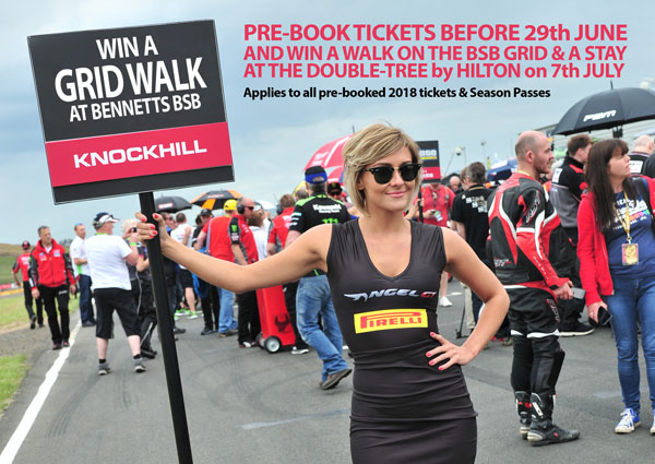 Win a Grid Walk and Stay at the Double-Tree by Hilton
