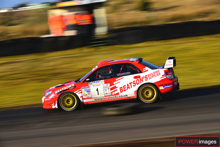 Marshall and Crawford snatch Grant Construction Knockhill Stages Rally win