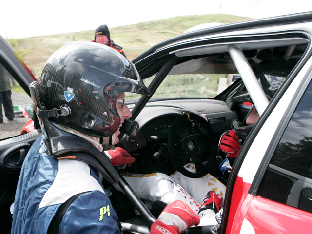 Meeke and McRae Star at McRae Rally Challenge
