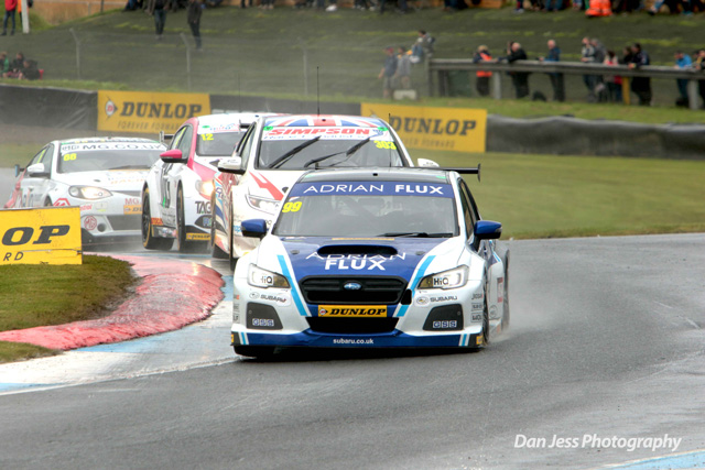 Plato secures 50th pole position of his career at Knockhill