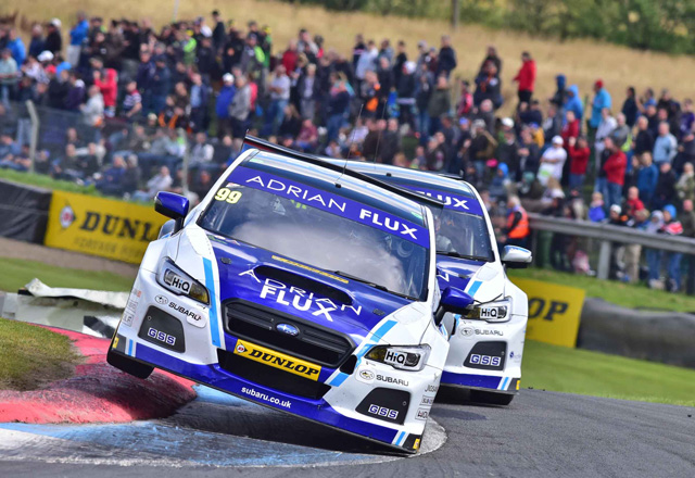 Plato takes lights-to-flag win in BTCC race one
