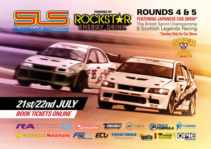 Super Lap Scotland rounds 4 and 5 this weekend