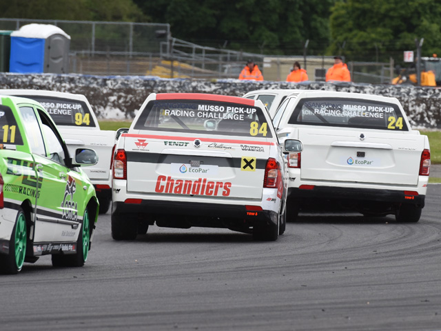 Knockhill next for SsangYong Musso Pick-up Racing Challenge