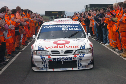 David Leslie tribute at Super Touring Car Festival