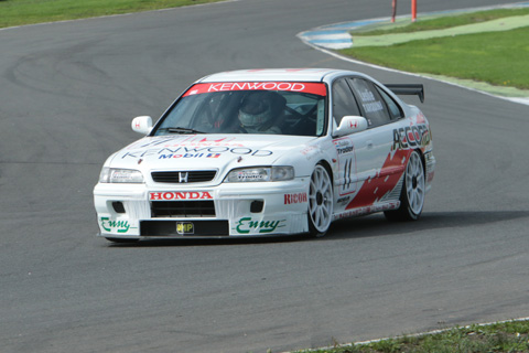 Today was Tarquini's day as he wins Race 1