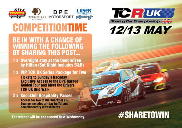 TCR UK Ticket and Hotel Stay Competition