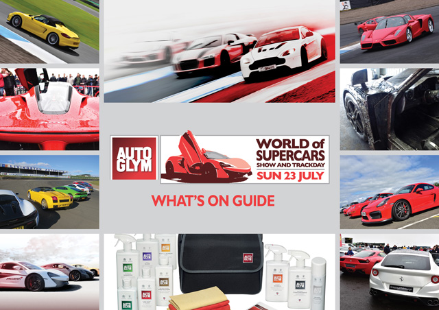 World of Supercars sponsored by Autoglym - What's On