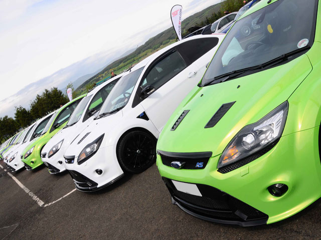 Scottish Ford Live and Hot Hatch Track Day