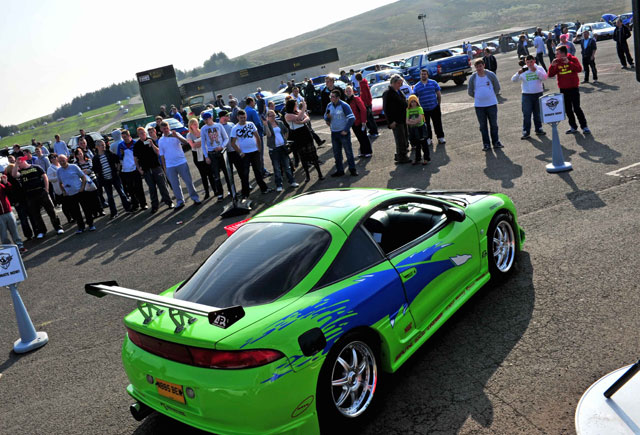 Super Lap Scotland and Paul Walker Tribute