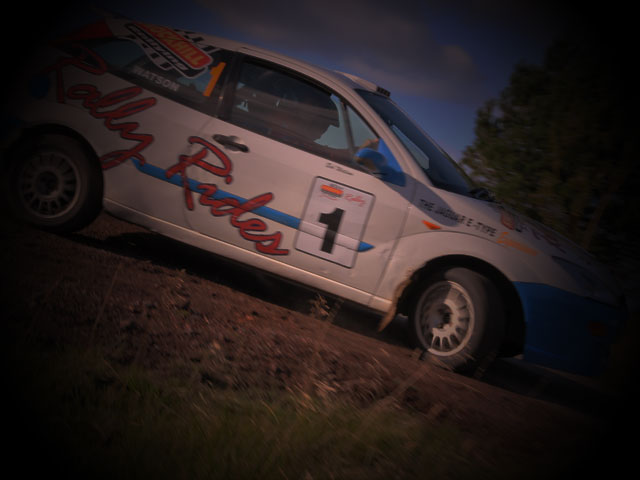 Rally Hot Laps