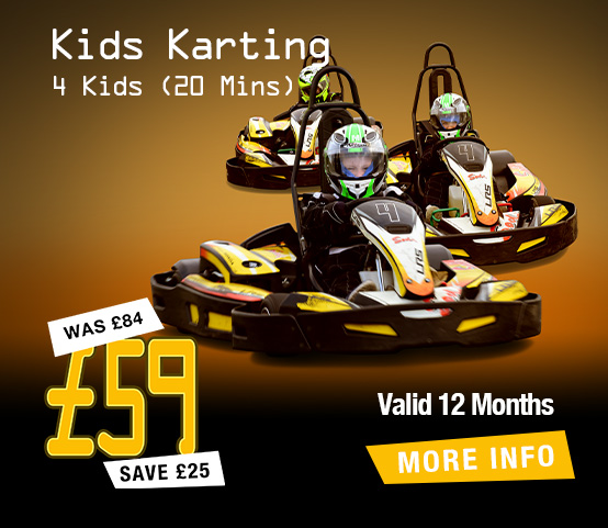 Karting for 4 Kids (20mins)