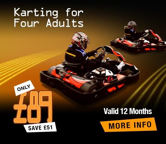 Karting for 4 Adults