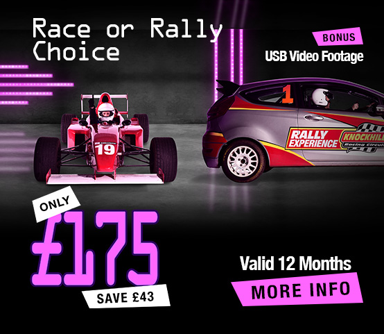 Formula Racing Car or Rally Experience