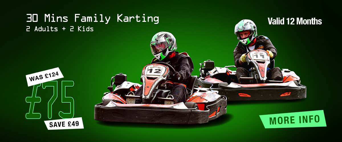 Karting for Family of 4