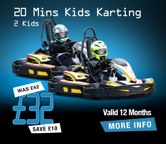 Karting for 2 Kids (20mins)