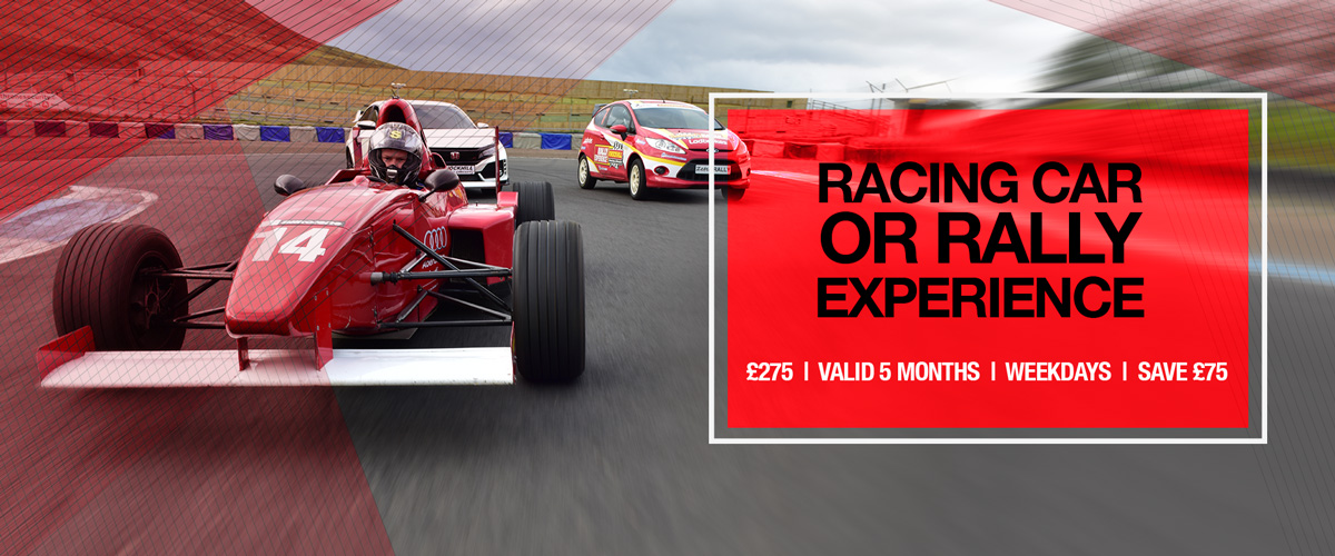Race or Rally Experience for 2 Drivers