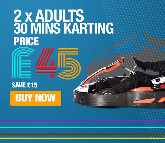 Karting for 2 Adults 30 mins