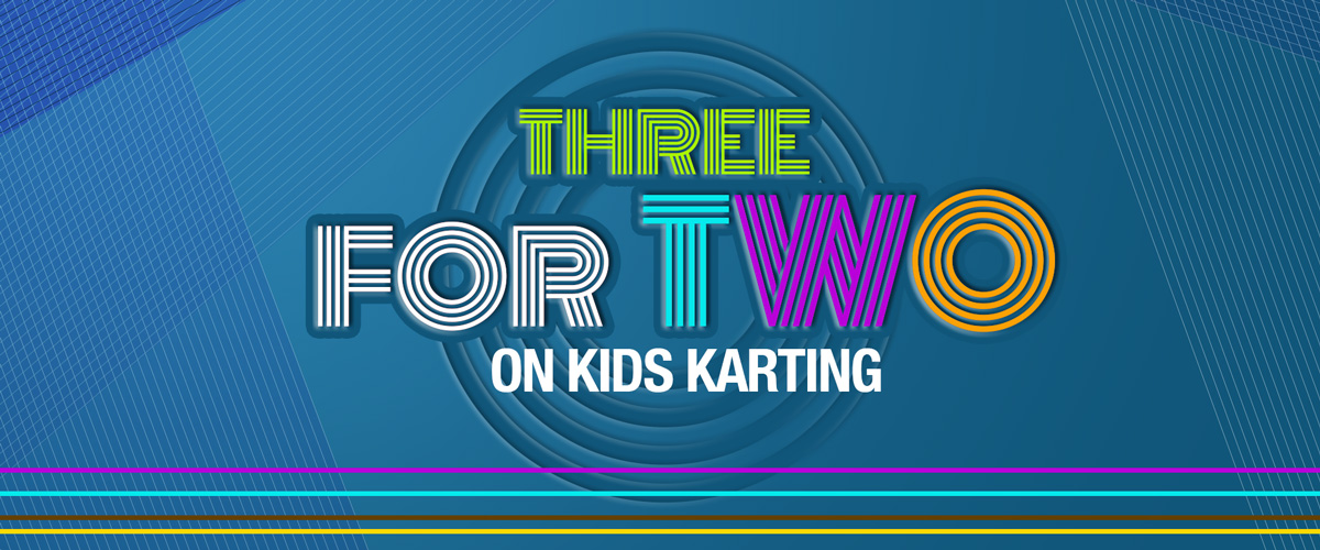 3 Kids Karting 30 mins (3for2)