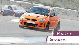 Hot Hatch Car Trackday - REVERSE'