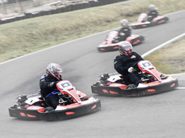 Family of 4 for 20 minutes of Karting