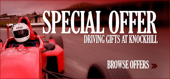 Special Offers on Driving gifts at knockhill
