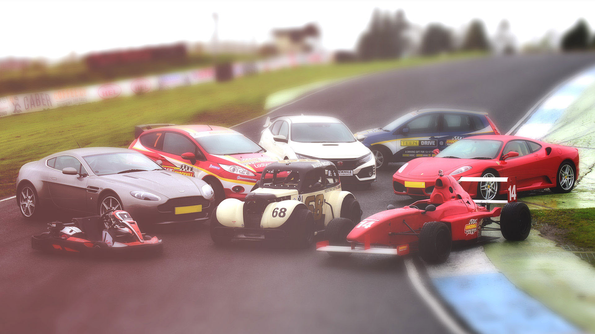Driving Experience Gifts Knockhill Racing Circuit