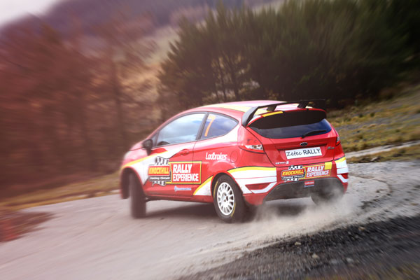 Ford Fiesta Zetec Rally Car