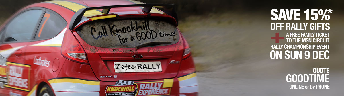 Rally Driving at Knockhill