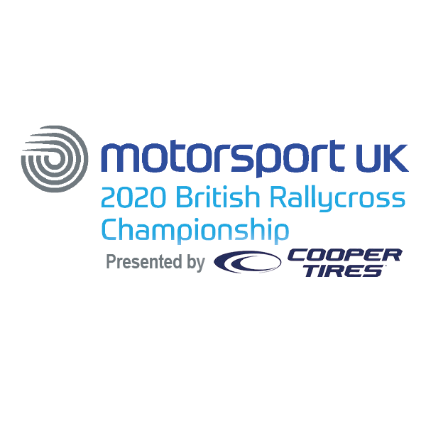 5 Nations British Rallycross Championship Logo