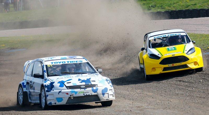 British Rallycross Championship at Knockhill