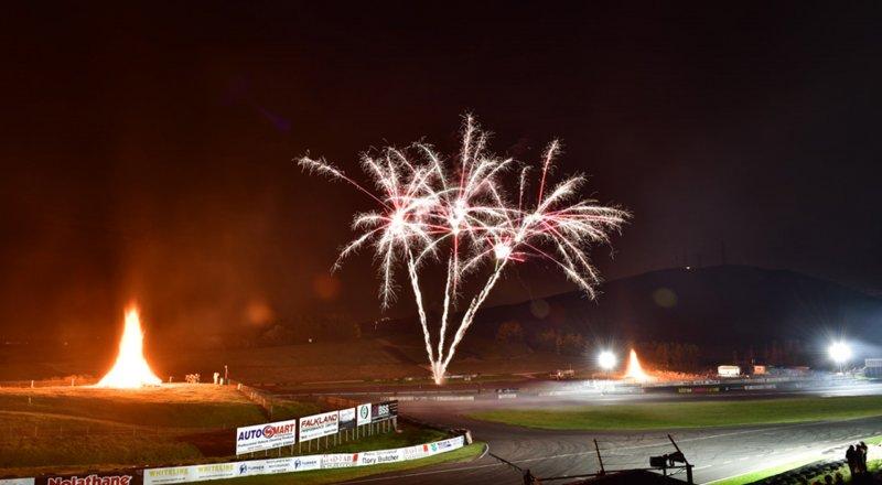 Live-Action & Fireworks at Knockhill