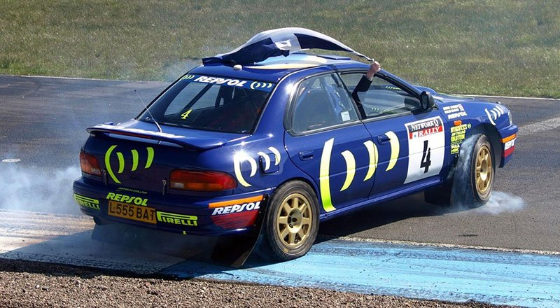 McRae Rally Challenge event at Knockhill Racing Circiit
