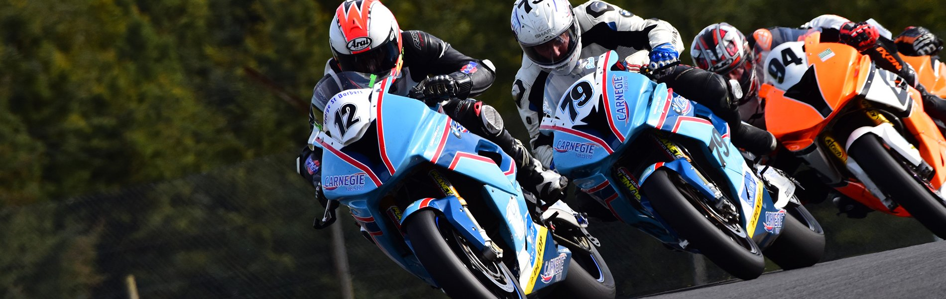Motor Bike racing at Knockhill