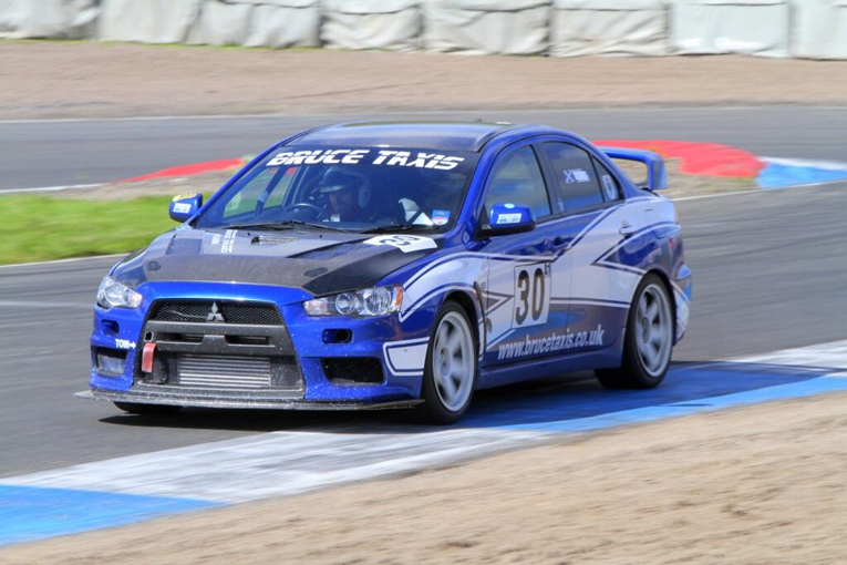 Picture of Alex Bruce's Evo X - to be driven by George Orr this weekend!