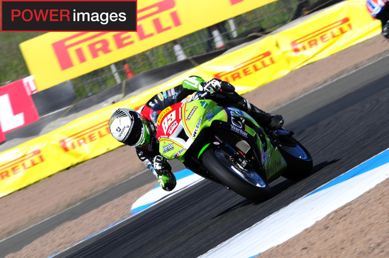 Kawasaki rider, Danny Buchan has been the leading Superstock 1000 rider this weekend!