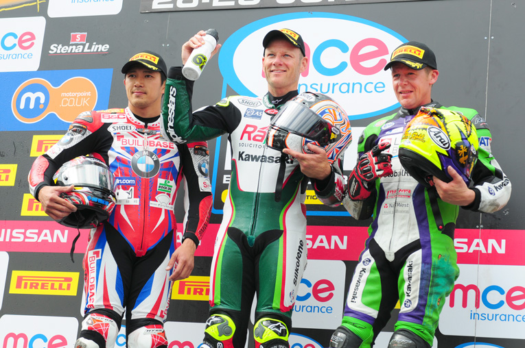 Shakey back on top of the BSB podium for the sixth time this season