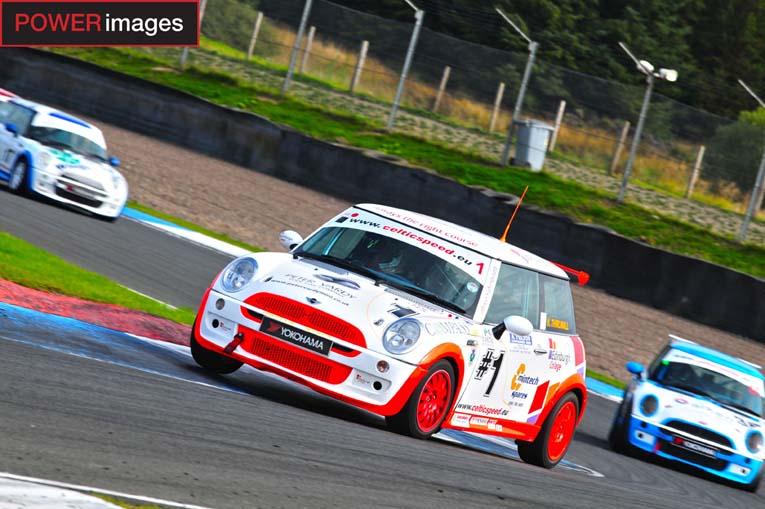 Thirlwall can't be caught in Celtic Speed Mini Cooper Cup