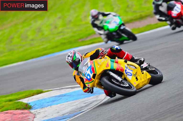 Des Burns - Cupar Motorcycles Pre-Injection 600 Champion